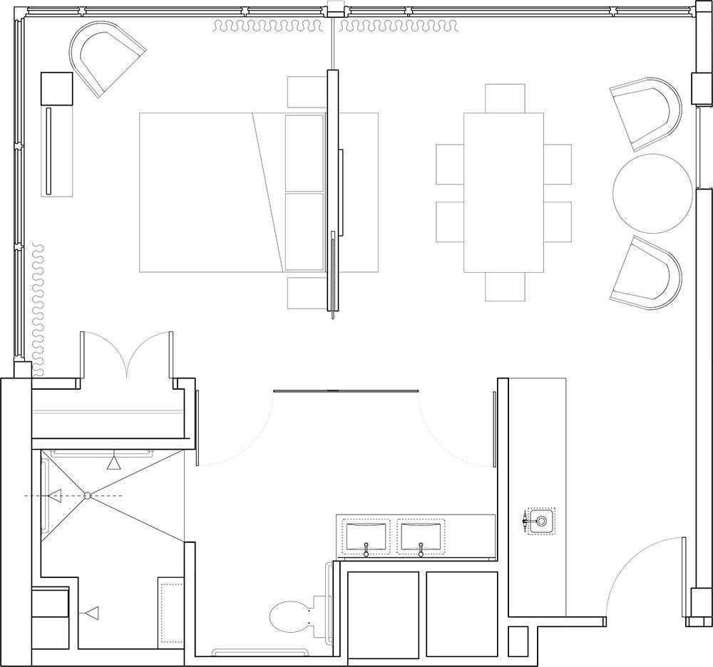 Hotel suites in portland hotel eastlund for Ada flooring