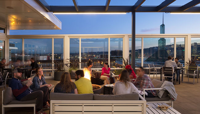 rooftop restaurants in Portland, OR