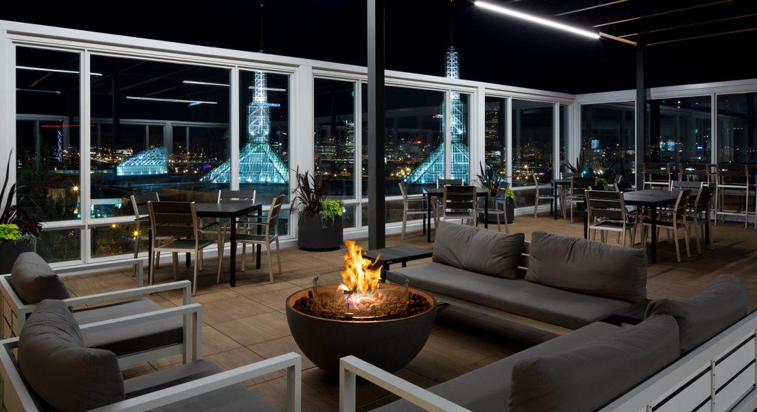 Rooftop Restaurants Portland Rooftop Bar Portland Or